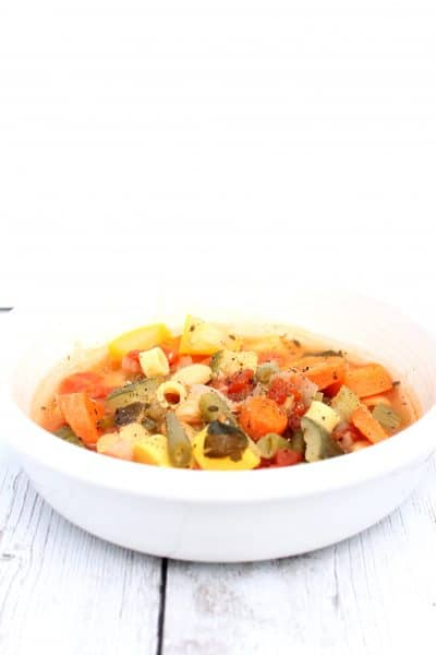 Today, I'm guest posting on Creating My Happiness, where I'm sharing the recipe for one of my favorite soups. Hop over and get the recipe for my quick and easy minestrone in the Instant Pot!
