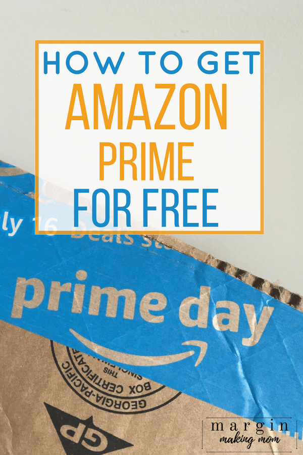 Box from Amazon Prime for Free