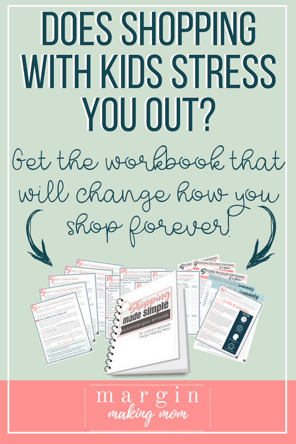 Does shopping with kids stress you out? Find out the easy, stress free way to transform how you shop!