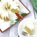 Easy Eggnog Bundt Cake (Instant Pot or Oven)