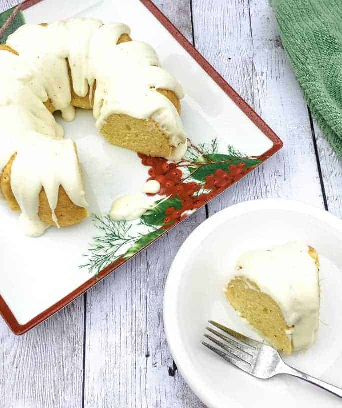 Easy Eggnog Bundt Cake (Instant Pot or Oven)