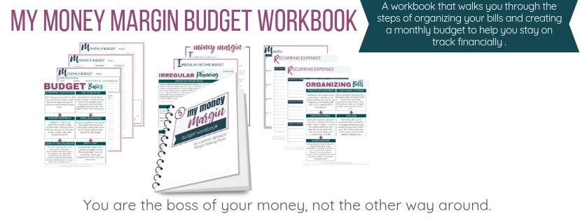 My Money Margin Budget Workbook