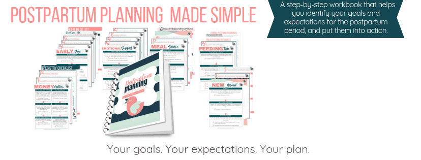 postpartum planning made simple