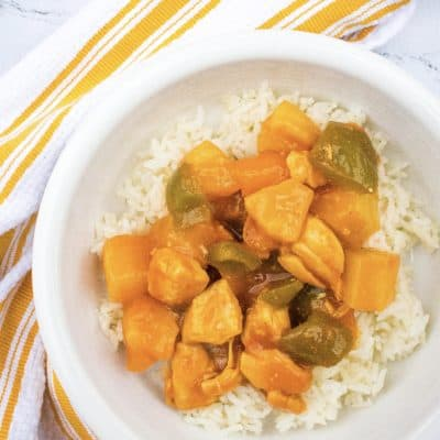 How to Make Sweet and Sour Chicken in the Instant Pot Pressure Cooker