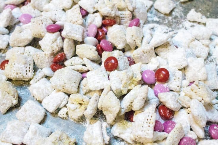 Valentine's Day Snack Mix for Goodie Bags