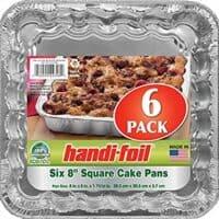 Handi-Foil Square Cake Pans