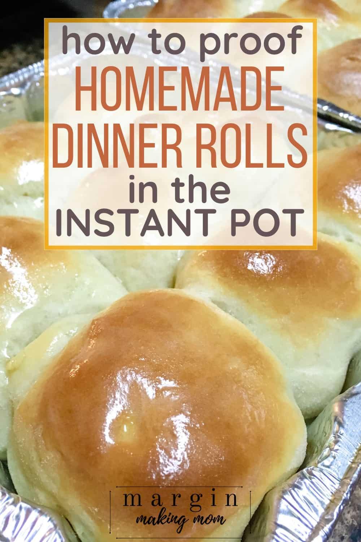 Instant Pot dinner rolls