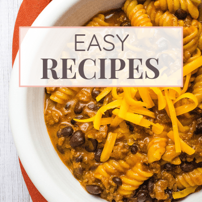 Easy Recipes on Margin Making Mom