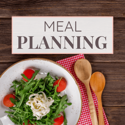 Meal Planning on Margin Making Mom
