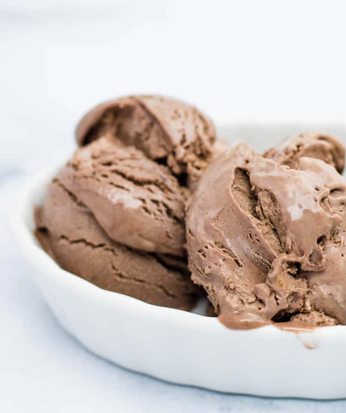 No-Churn Chocolate Peanut Butter Ice Cream