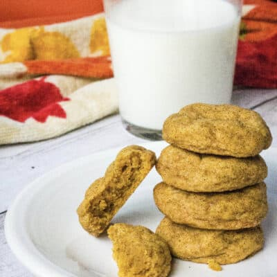Soft and Chewy Pumpkin Snickerdoodles