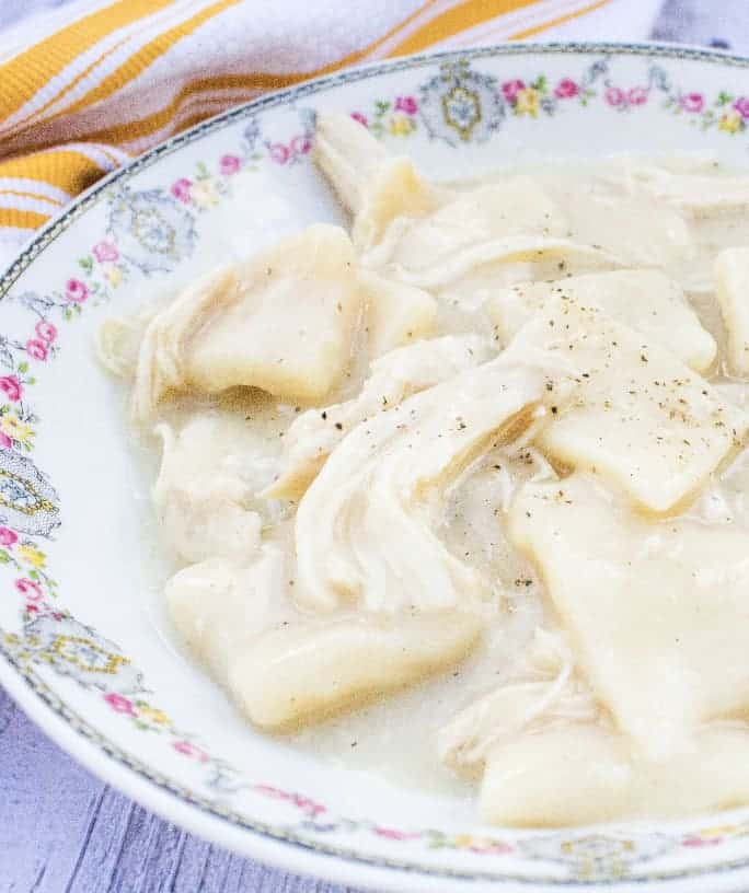 Copycat Cracker Barrel Chicken and Dumplings