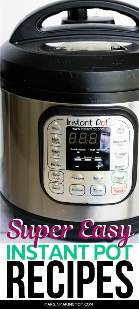 image of an Instant Pot pressure cooker