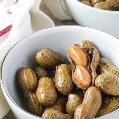 Easy Crock Pot Boiled Peanuts