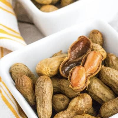 Crockpot Cajun Boiled Peanuts