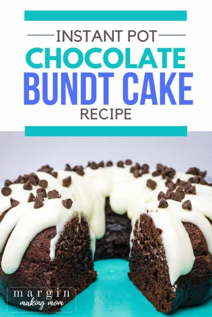 "chocolate bundt cake that was ""baked"" in the Instant Pot"