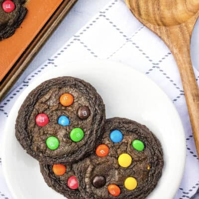 Soft and Chewy Brownie Mix Cookies