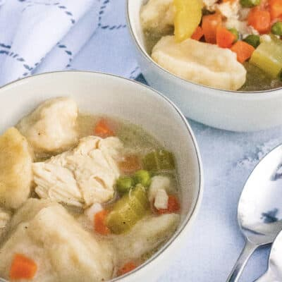 Crockpot Chicken and Dumplings with Grands Biscuits