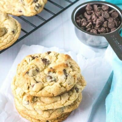 Soft and Chewy Bisquick Chocolate Chip Cookies