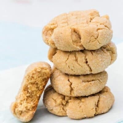 Easy Bisquick Peanut Butter Cookies