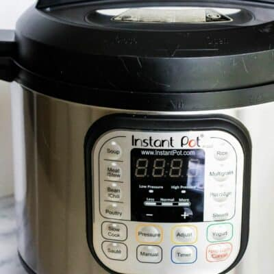 How to Keep Food Warm in the Instant Pot