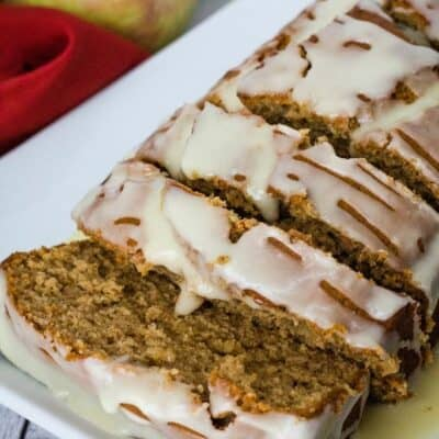 Easy Spiced Apple Butter Bread