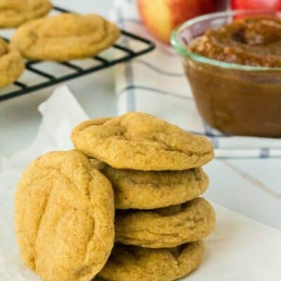 Easy Apple Butter Snickerdoodles