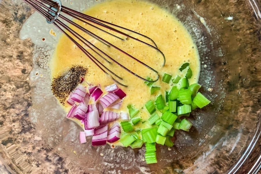 ingredients for macaroni salad dressing