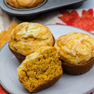 Easy Pumpkin Cream Cheese Muffins