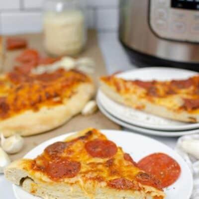 Super Easy Instant Pot Pizza Dough