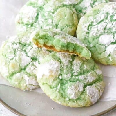 Soft and Chewy Pistachio Pudding Cookies
