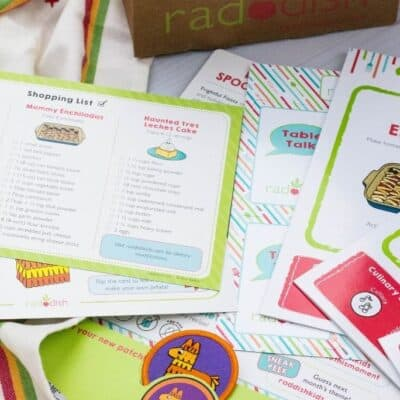 Raddish Kids Cooking Box- An Honest Review of the Kids' Subscription Box