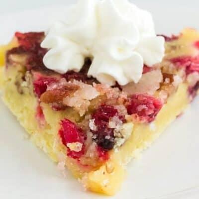 Instant Pot Nantucket Cranberry Pie – An Easy Holiday Dessert