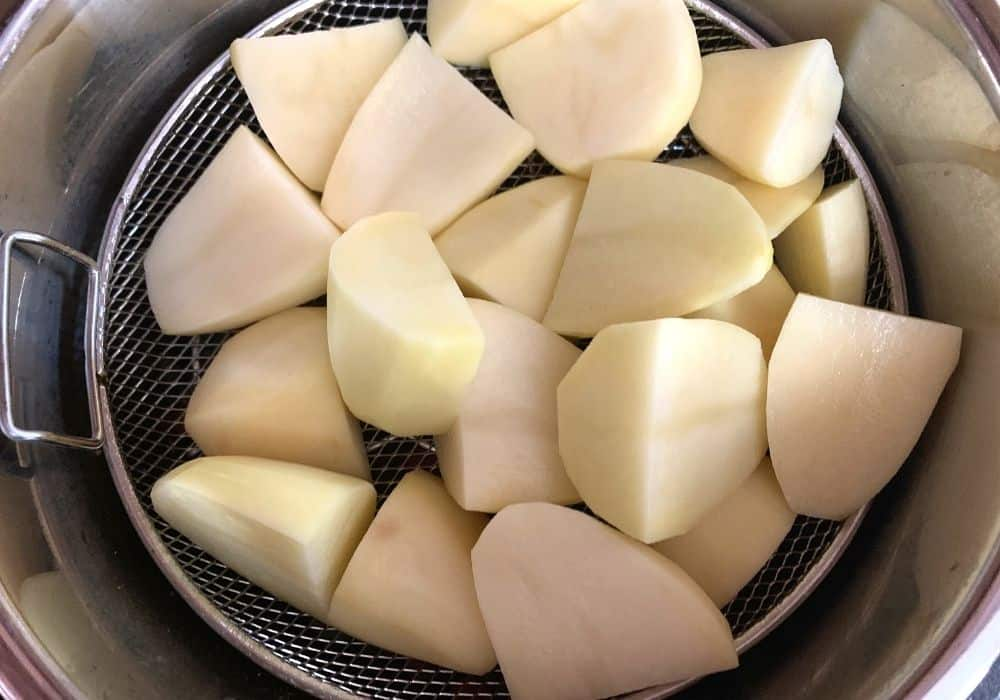 potatoes in the instant pot for shepherds pie