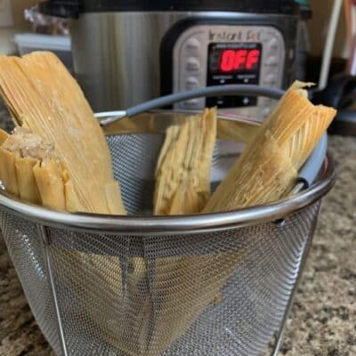 How to Reheat Tamales in the Instant Pot