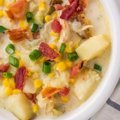 Hearty Instant Pot Chicken Corn Chowder
