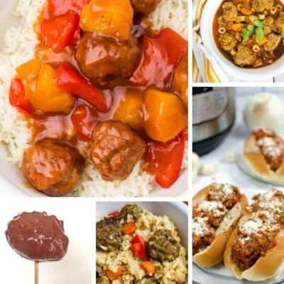Easy Instant Pot Frozen Meatballs Recipes for Dinner
