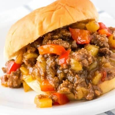 Easy Instant Pot Hawaiian Sloppy Joes