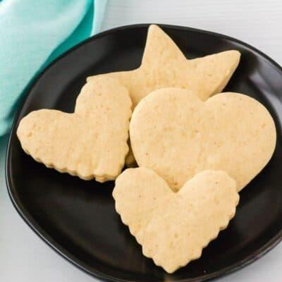 Easy Italian Sour Cream Cookie Cutouts