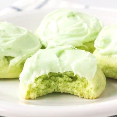 Easy Lime Jello Sugar Cookies