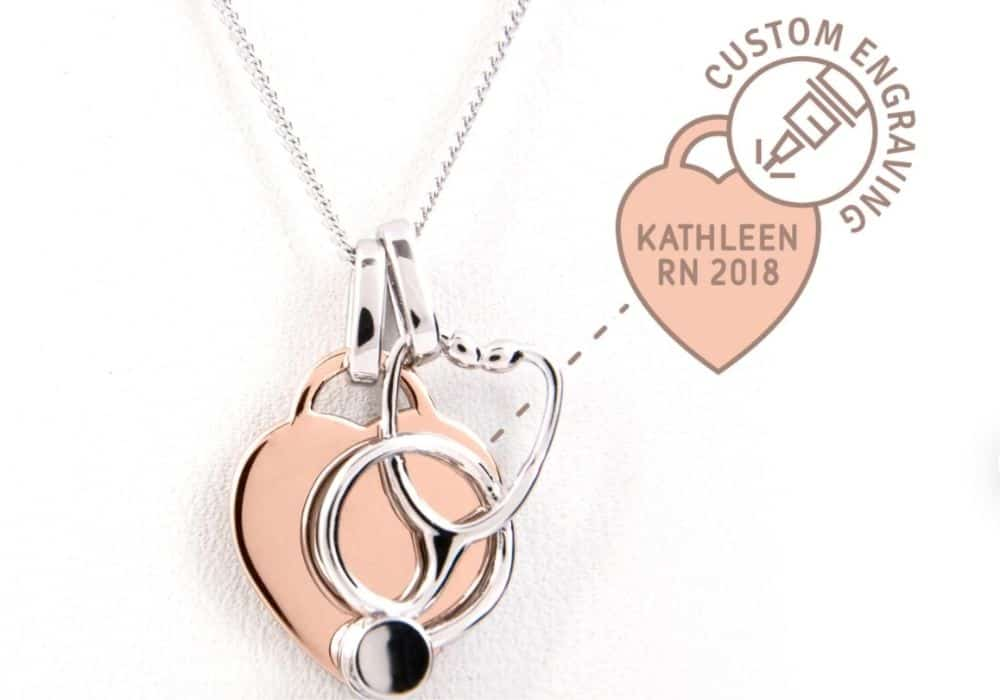 Nurse jewelry available on Etsy as a gift for nurses
