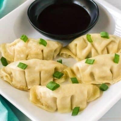Easy Instant Pot Frozen Dumplings (Potstickers)