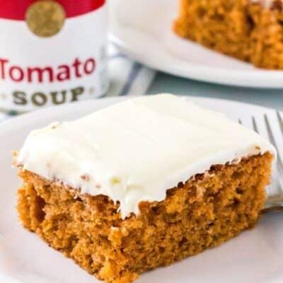 Old-Fashioned Tomato Soup Cake