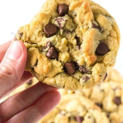 BEST Chocolate Chip Cookies without Brown Sugar