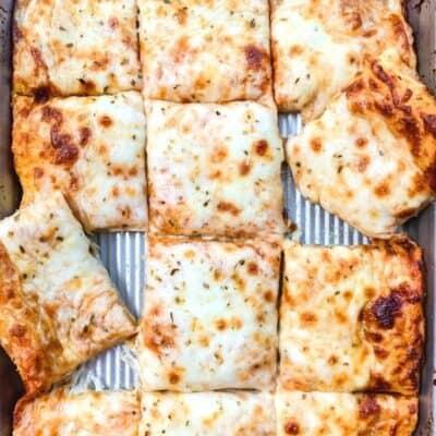 Easy Homemade School Cafeteria Pizza